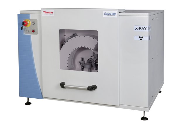 XRD investigation of peridotite using the ARL EQUINOX 1000 X-ray diffractometer