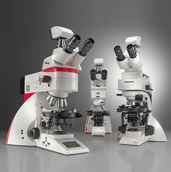 Upright Microscopes for Polarization Leica DM4 P, DM2700 P & DM750 P