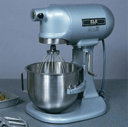 Bench-Mounting Mixer 5 Litre Capacity Complete with Bowl Beater and Whisk. 220-240V 50Hz 1Ph