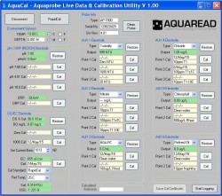 AquaCal – Aquaprobe Live Data & Calibration Utility with Report Generation