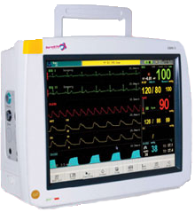 Infinium touch screen patient monitor Omni II