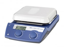 Magnetic stirrer with heating, ceramic IKA C-MAG HS 7 digital